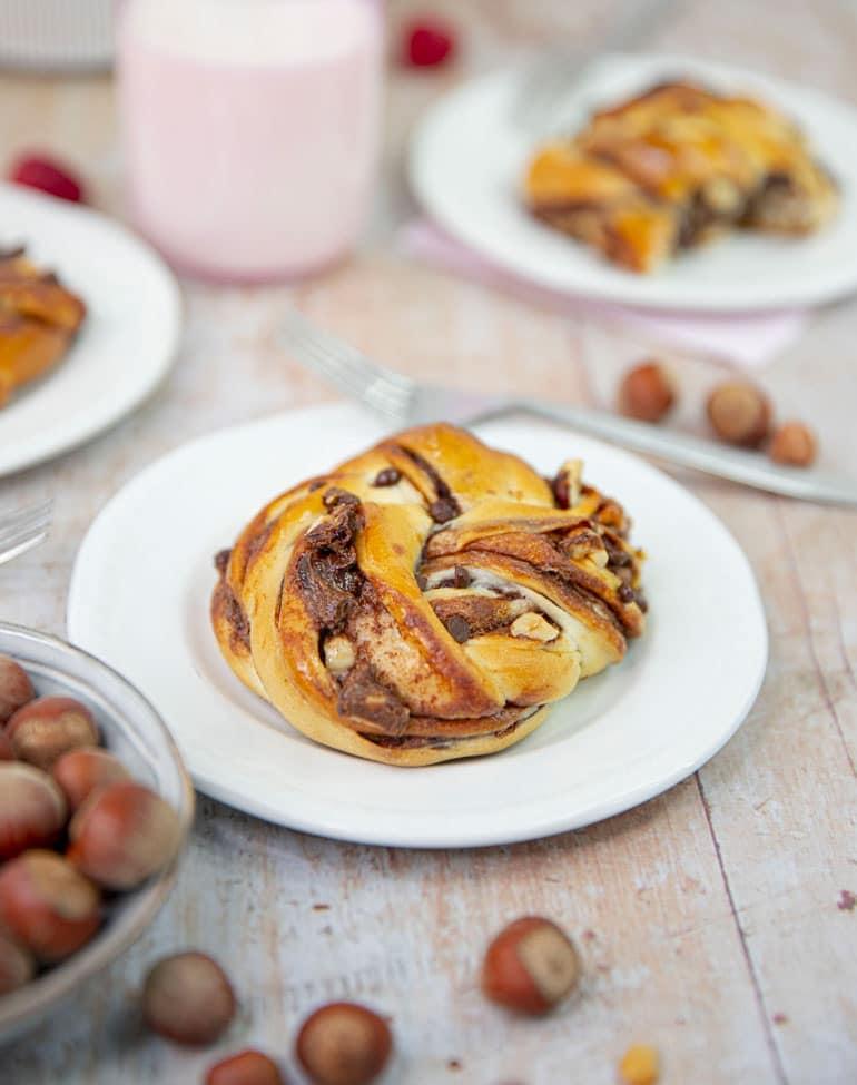 Voici la meilleure recette de babka aux noisettes et au chocolat!