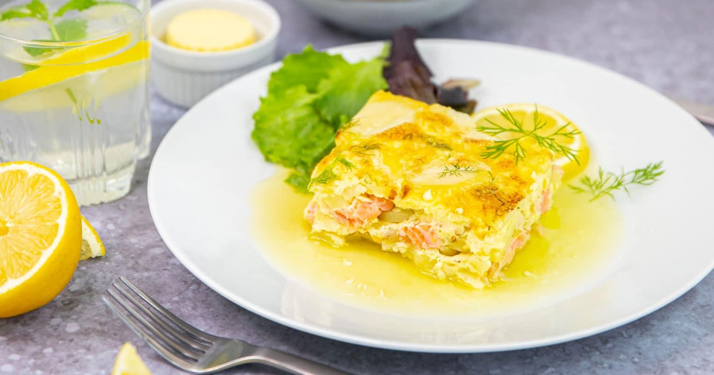 Le laxpudding: la recette du plat traditionnel suédois!