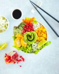 Twistez vos lunchs avec cette recette de poke bowl vegan!