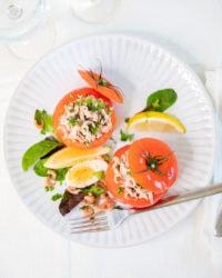 Voici la recette traditionnelle belge des tomates aux crevettes!