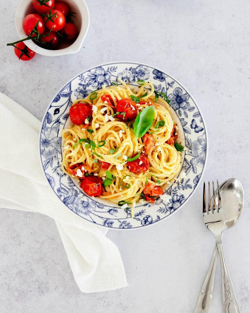 Baked feta pasta: la recette Tiktok qui inonde le web!