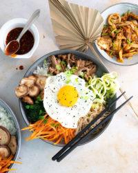 Comment cuisiner un bibimbap coréen au boeuf?