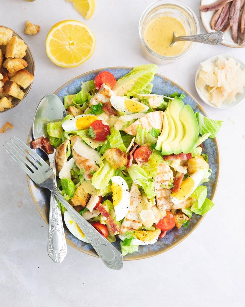 Assiette de salade césar / Caesar salad