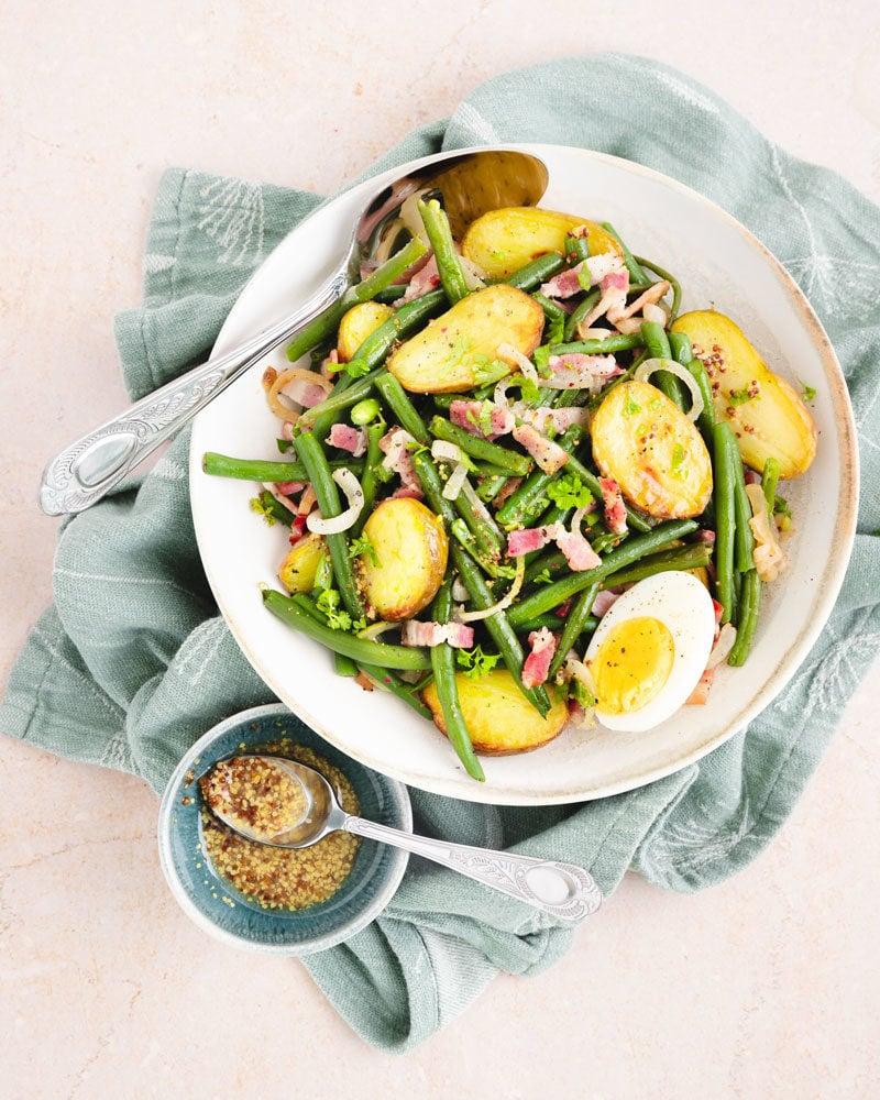 Comment faire une salade liégeoise?