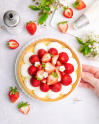 La croûte aux fraises, la version belge de la tarte aux fraises!