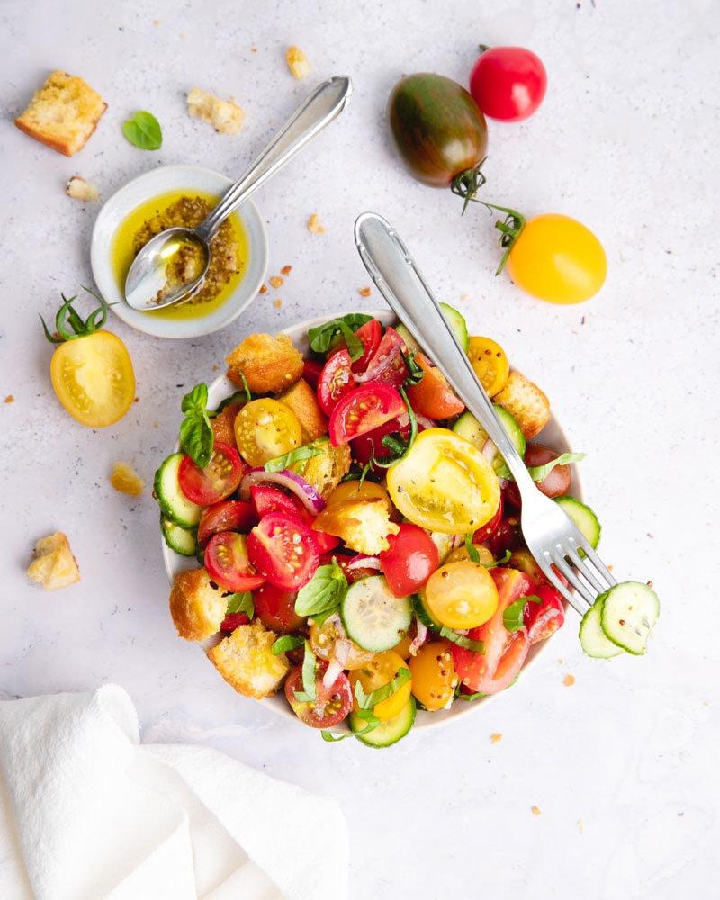 La panzanella, la salade d'été toscane à tester absolument!