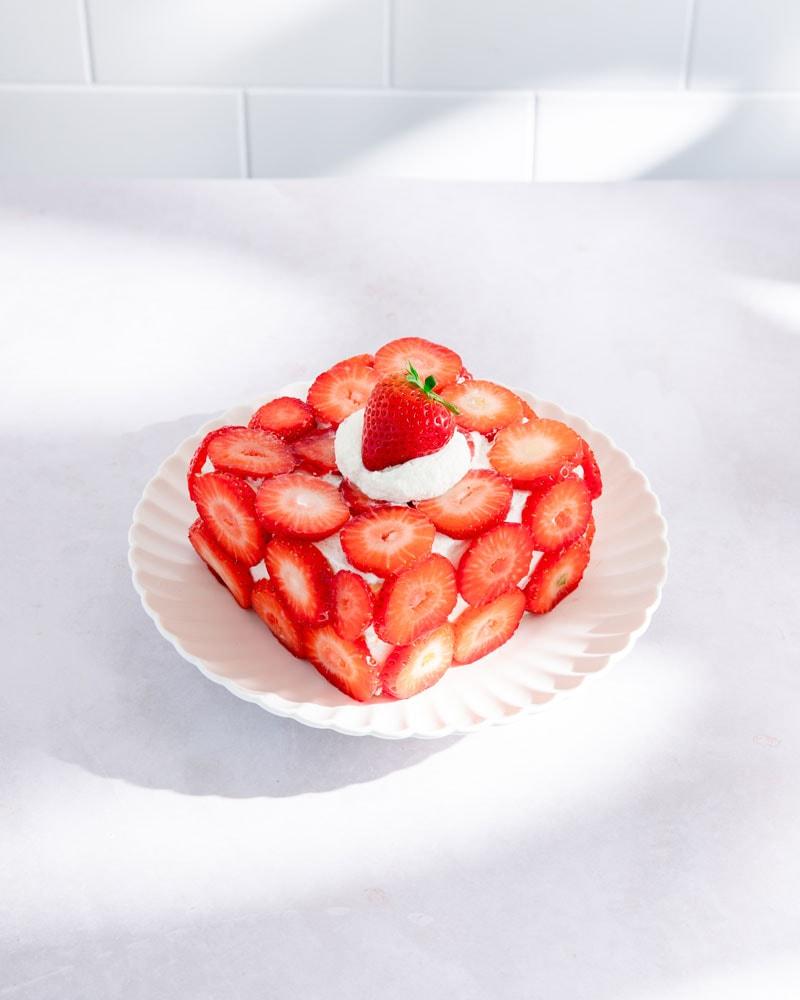 Assiette de ddalgi-ddalgi cake