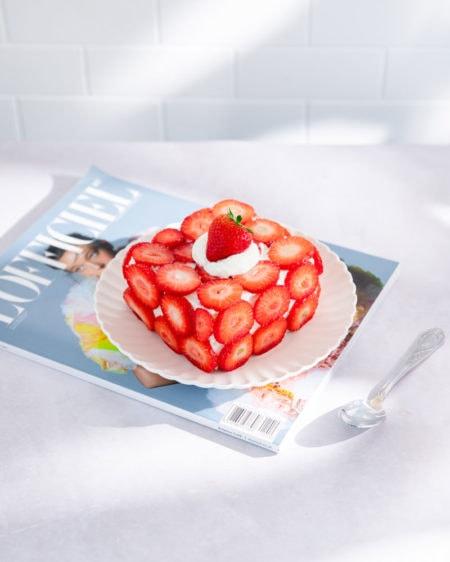 Le ddalgi-ddalgi cake, la version sud-coréenne du strawberry shortcake!