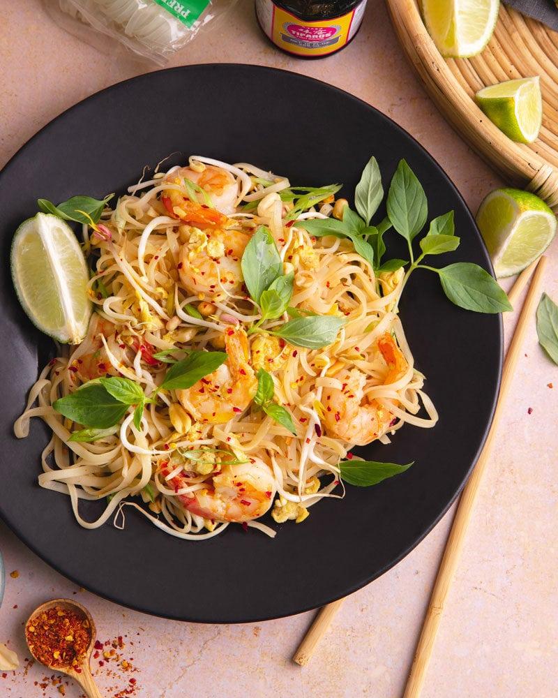 Le pad thaï fait-maison, bien meilleur qu'en take-away!